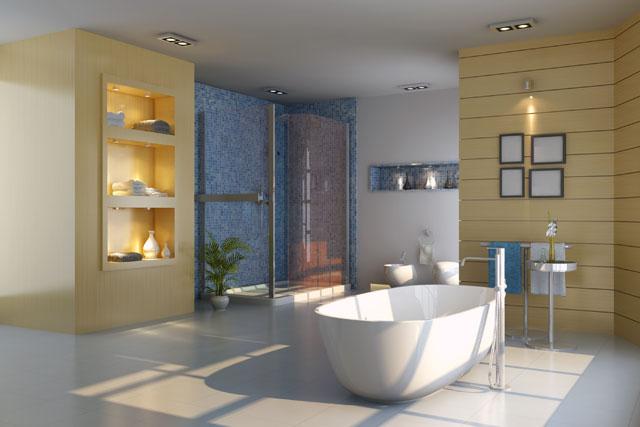 Badezimmer ideen modern neuesten design for Badezimmer ideen mediterran